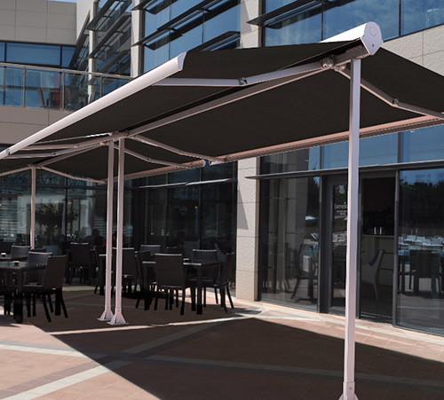 Estructura para terraza bar